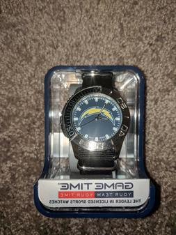 GameTime LA Los Angeles Chargers Football Watch Analog Time