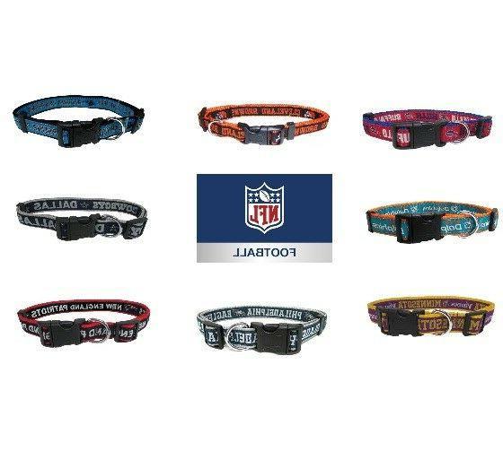 nfl football dog collar pet gear all