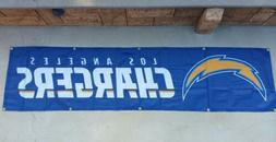 Los Angeles Chargers Flag Tailgate Banner 8ft x 2Ft, LA flag
