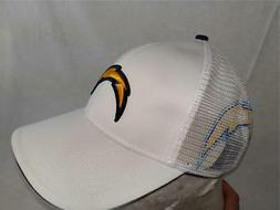 New Los Angeles Chargers Mens OSFA Snapback White Trucker Ha